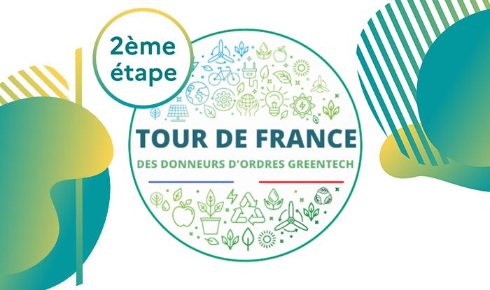 Vignette 2ème étape du Tour de France des donneurs d'ordres Greentech publics et privés