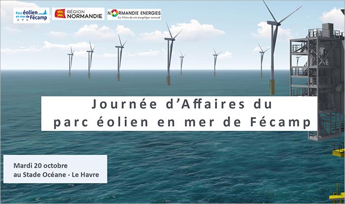 Vignette Journée d'affaires du Parc éolien en mer de Fécamp