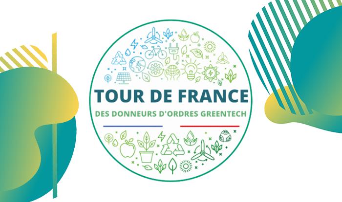 Vignette 1ère étape du Tour de France des donneurs d'ordres Greentech publics et privés
